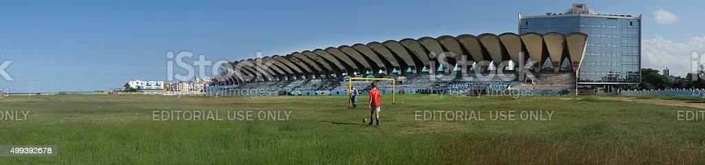 José Martí Stadium complex stock photo