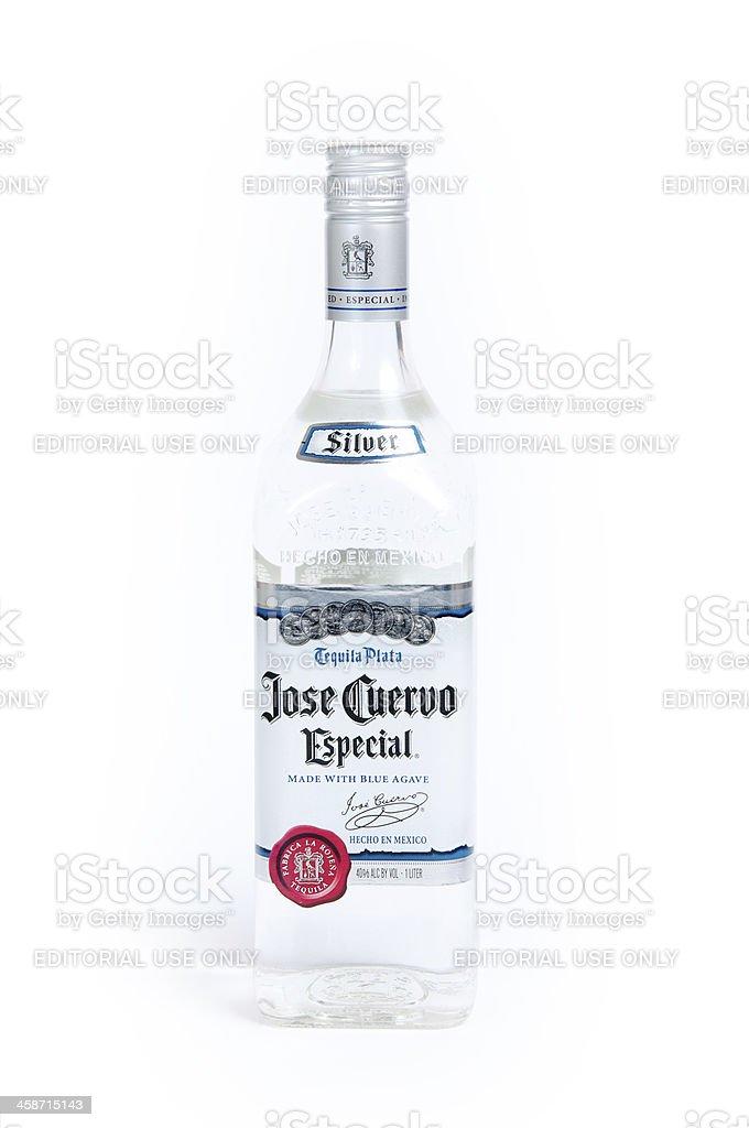 Jose Cuervo Especial Silver stock photo