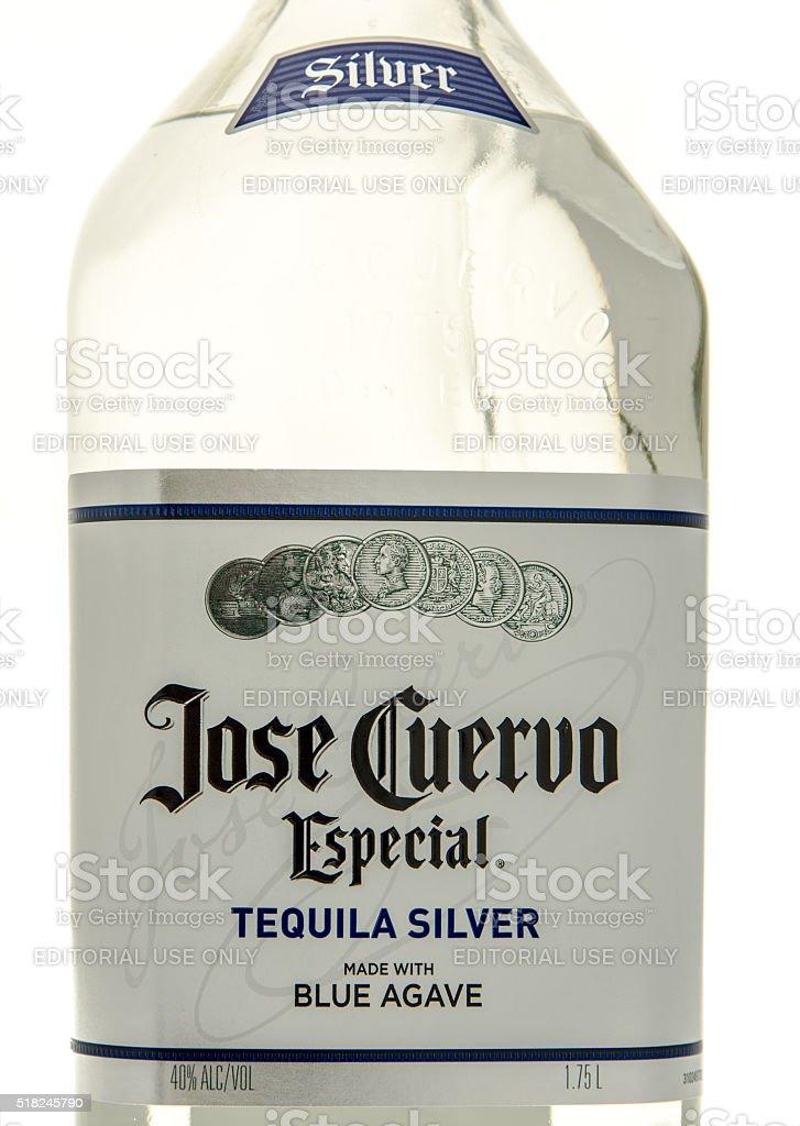 Jose Cuervo Tequila stock photo