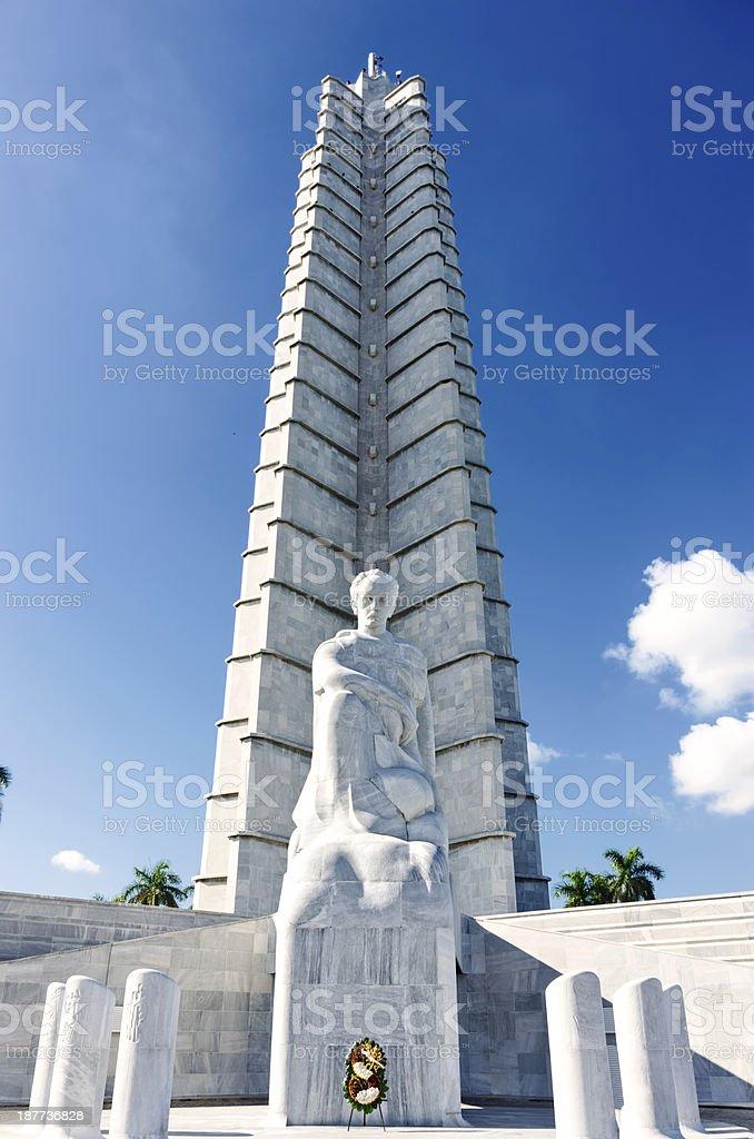 Jose Marti Monument stock photo
