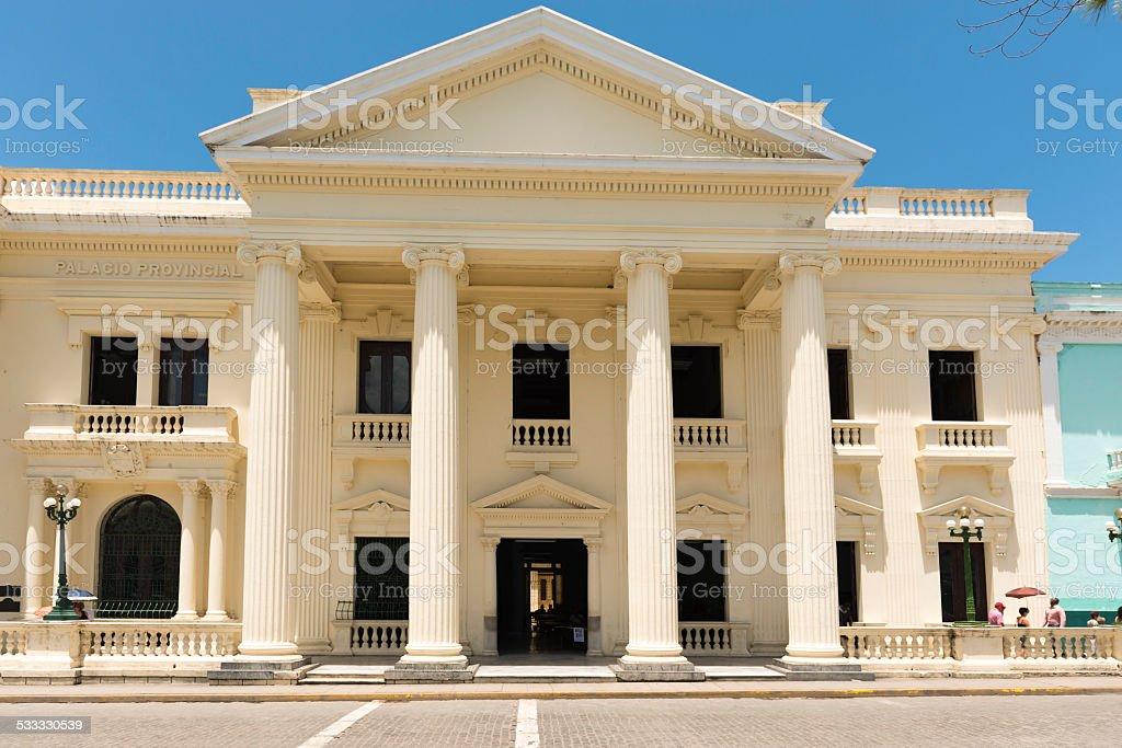 Jose Marti Provincial Public Library,Santa Clara,Cuba stock photo