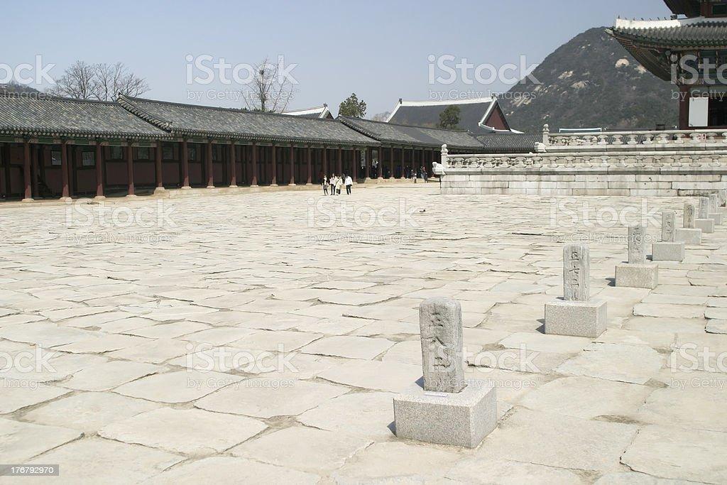 Josen Palace royalty-free stock photo