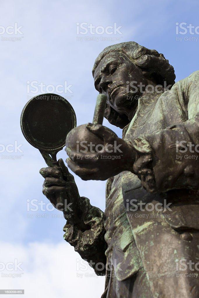Joseph Priestley stock photo