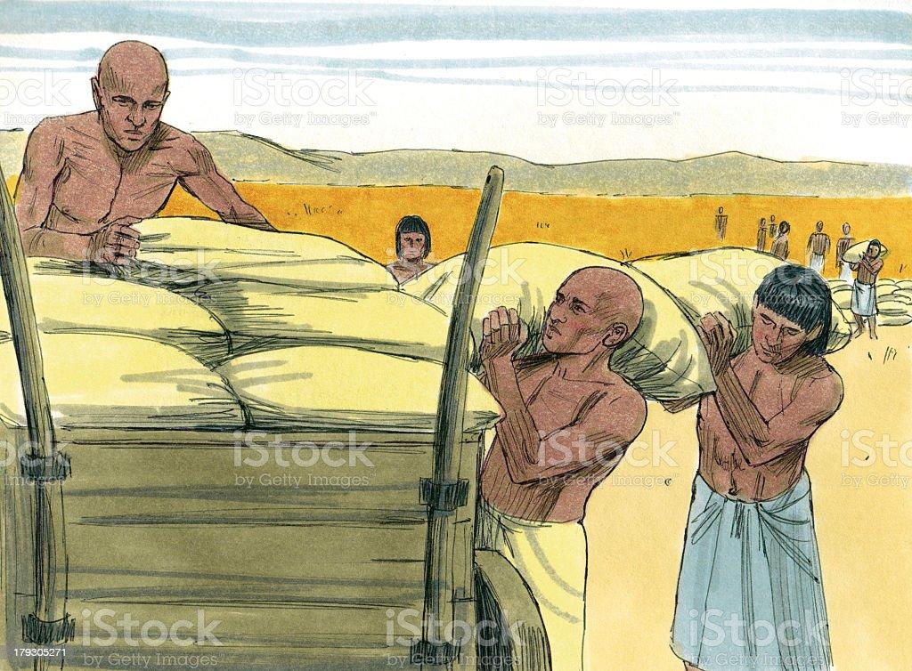 Joseph's Plan in Action stock photo