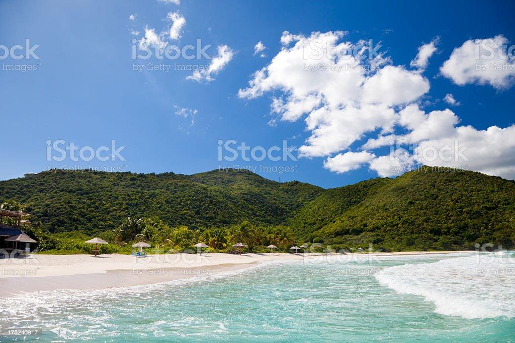 Josiah's Bay, Tortola, British Virgin Islands royalty-free stock photo