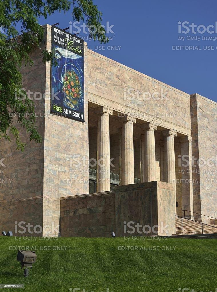 Joslyn Art Museum, Omaha stock photo