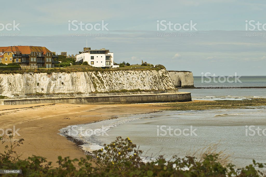 Joss Bay - Kent stock photo