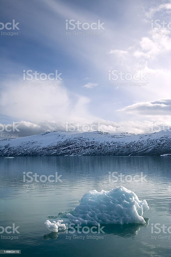 Jostedalsbreen glacier landscape - Norway royalty-free stock photo