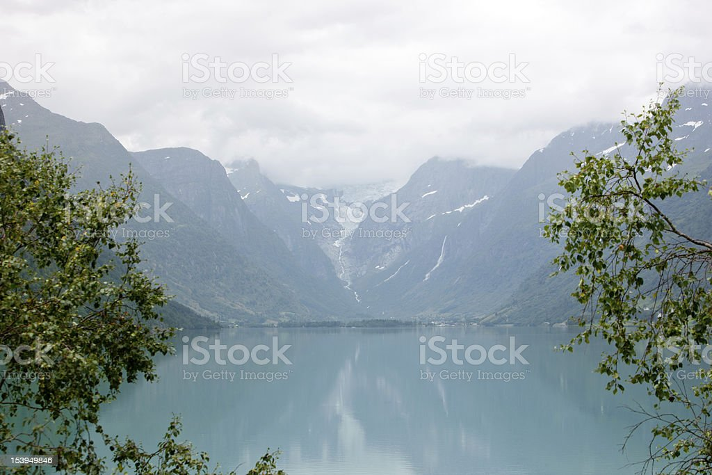 Jostedalsbreen royalty-free stock photo