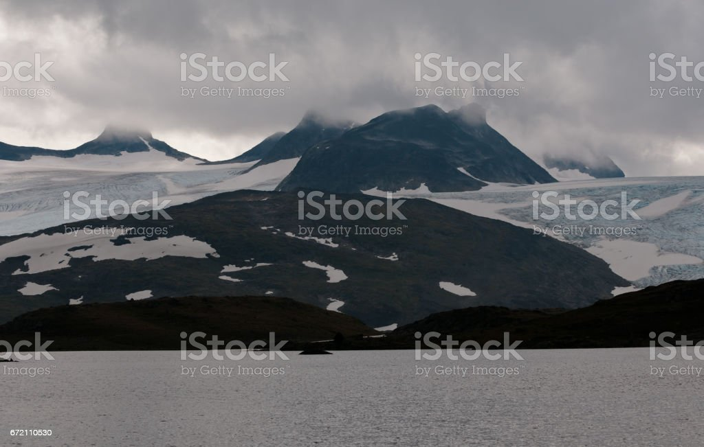 Jotunheimen National Park stock photo