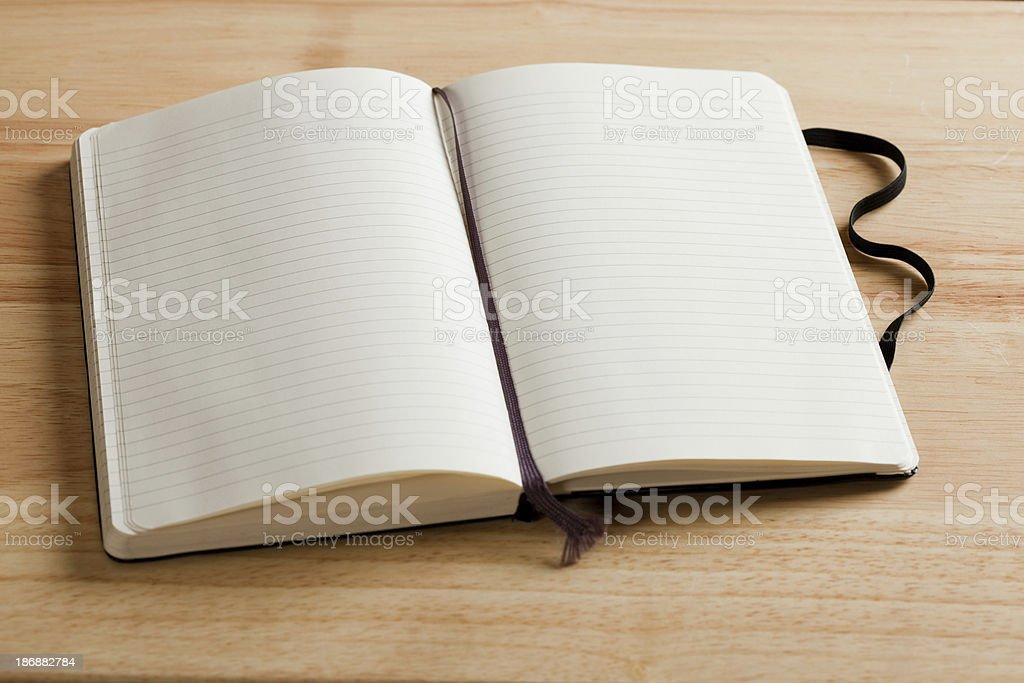 Journal On Desk stock photo
