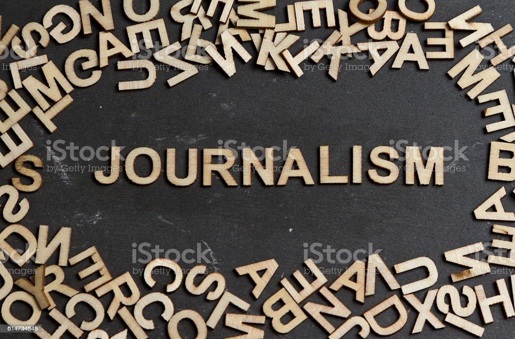 Journalism stock photo