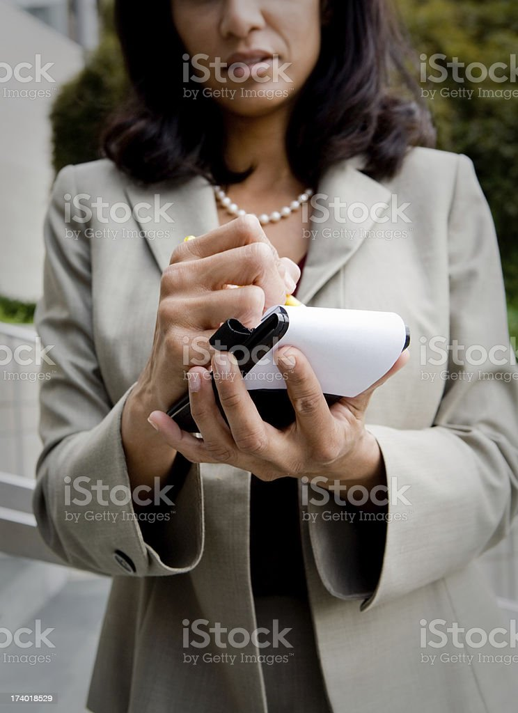 Journalist stock photo