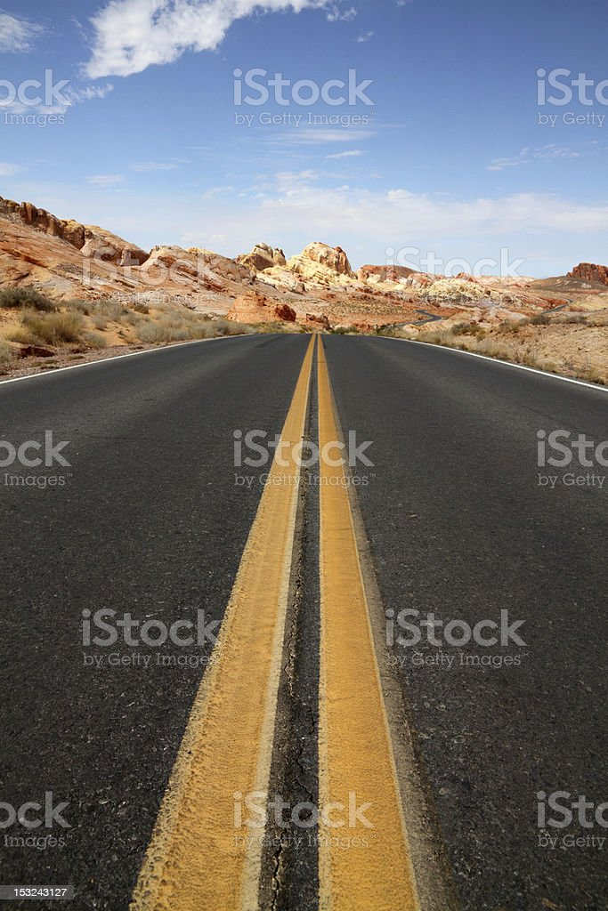Journey ahead royalty-free stock photo