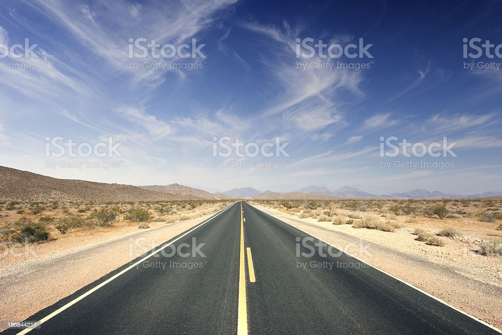 Journey ahead stock photo