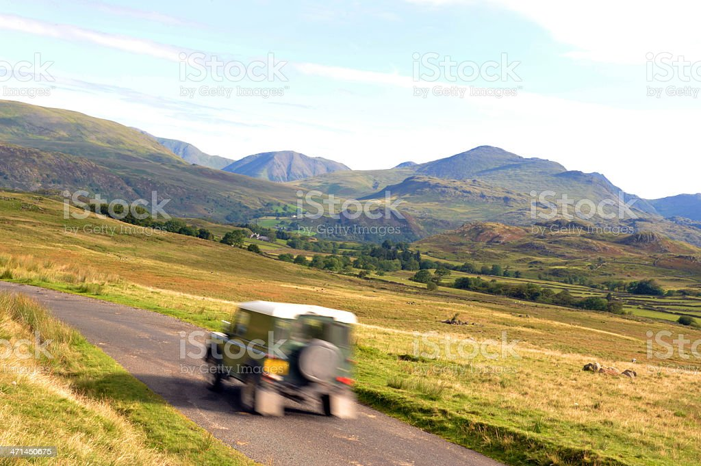 Journey in The Lake District royalty-free stock photo