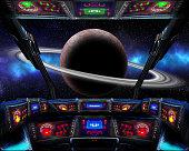 Journey to Saturn.