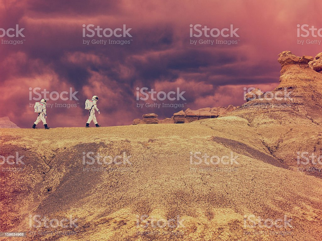 Journey to the Beyond stock photo