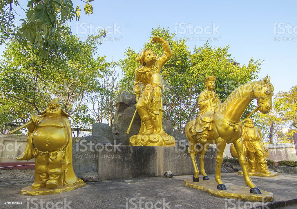 Journey to the West stock photo