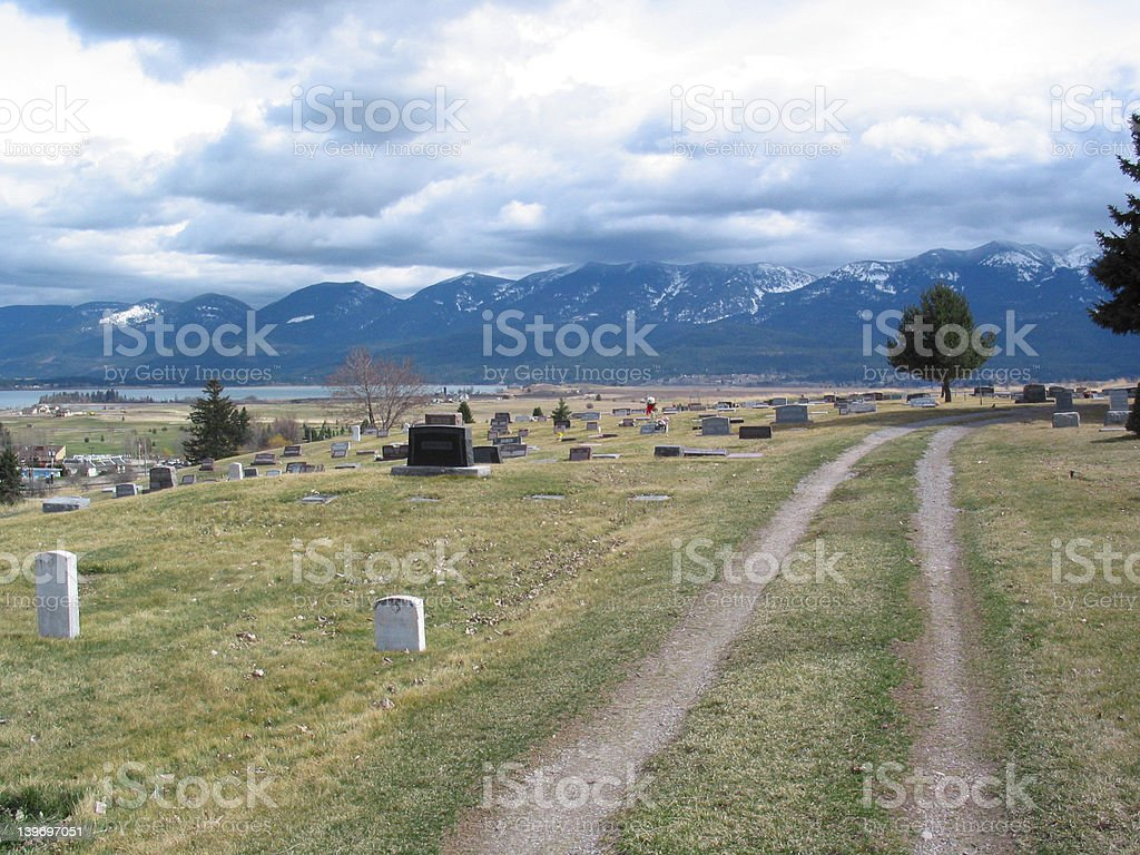 Journey's End royalty-free stock photo
