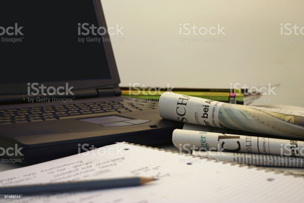 Journnalism stock photo