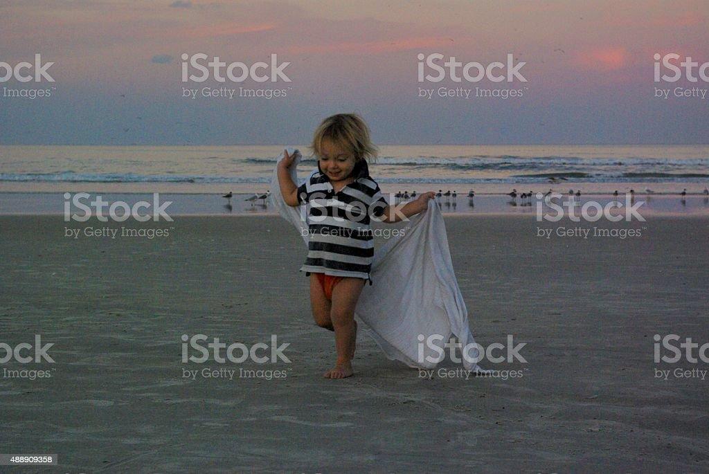 Joy and beauty stock photo