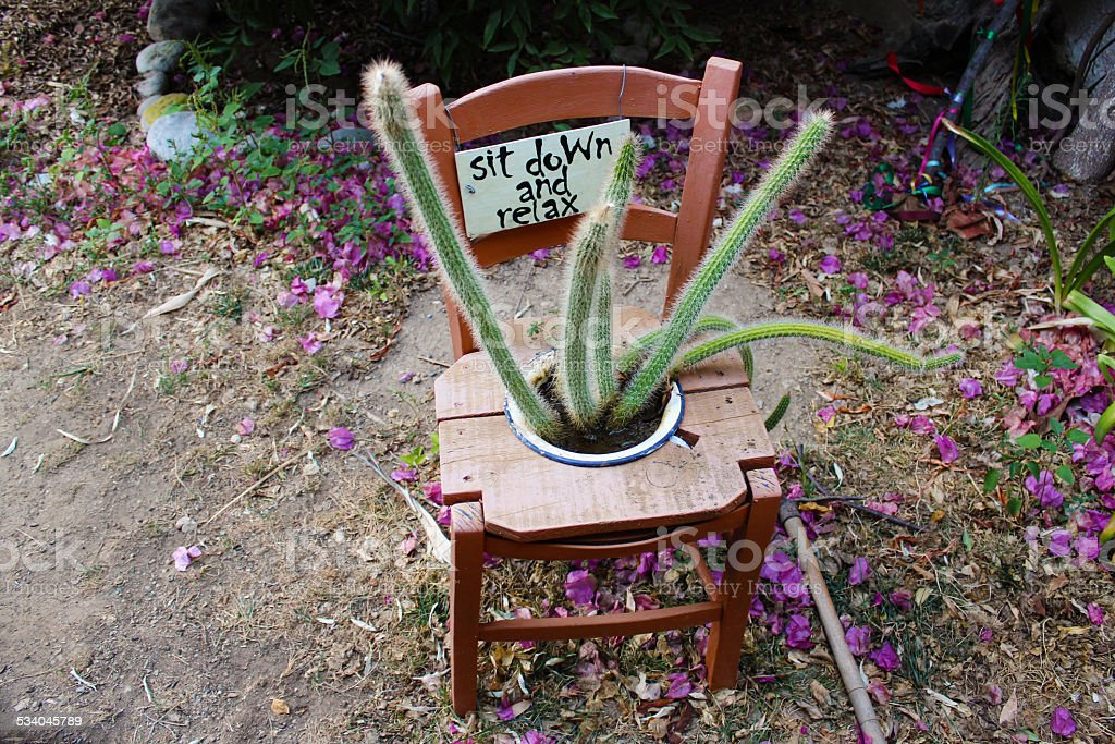 Joy стул Стоковые фото Стоковая фотография