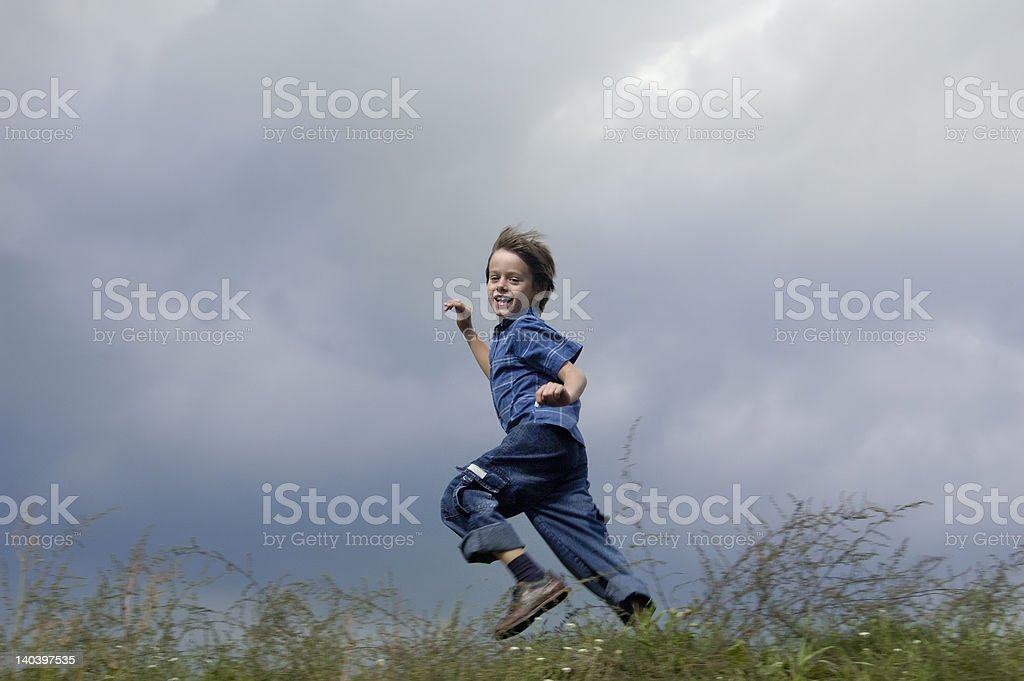 Joy Of Freedom And The Fun with Speed royalty-free stock photo