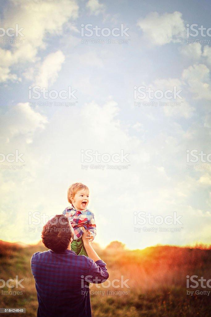 Joy of life stock photo