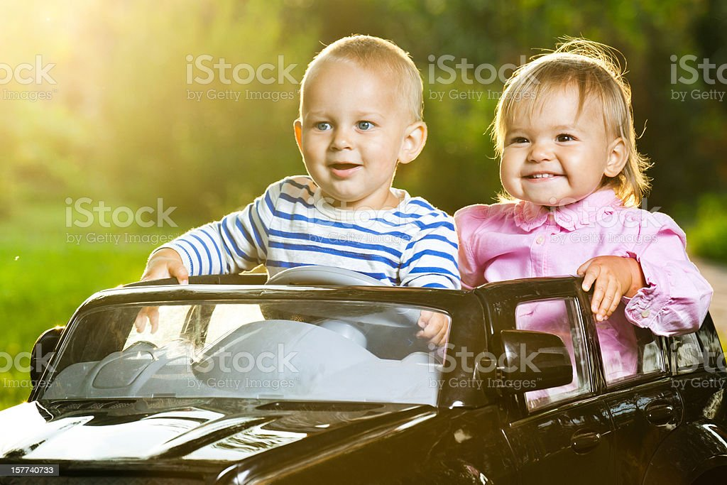 Joy ride stock photo