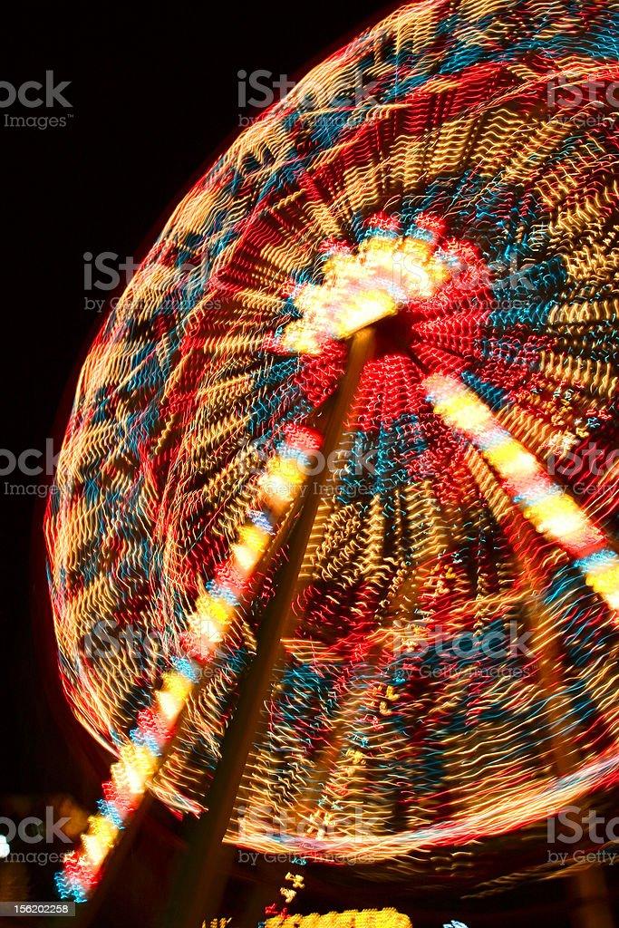 Joy Wheel royalty-free stock photo