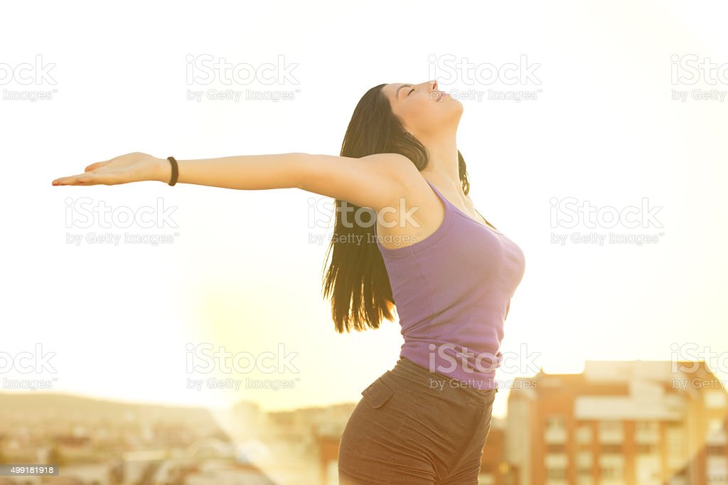 Joyful Ecstasy stock photo