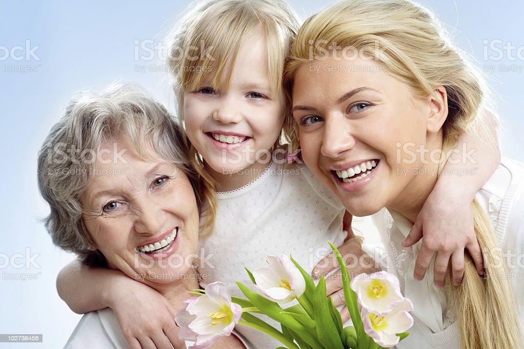 Joyful people royalty-free stock photo