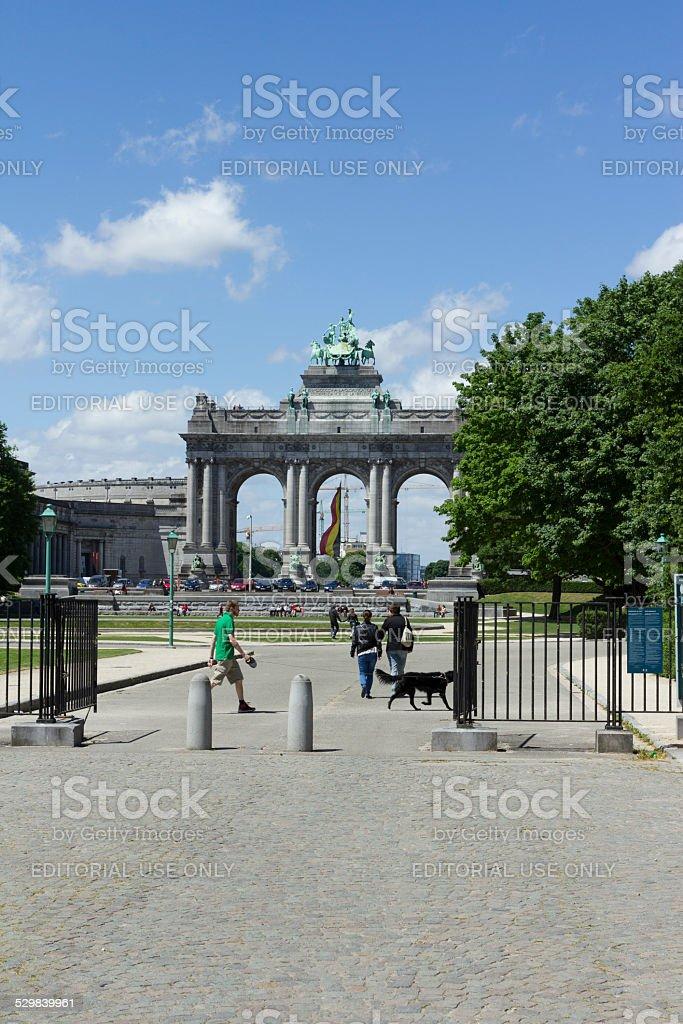 Jubelpark stock photo