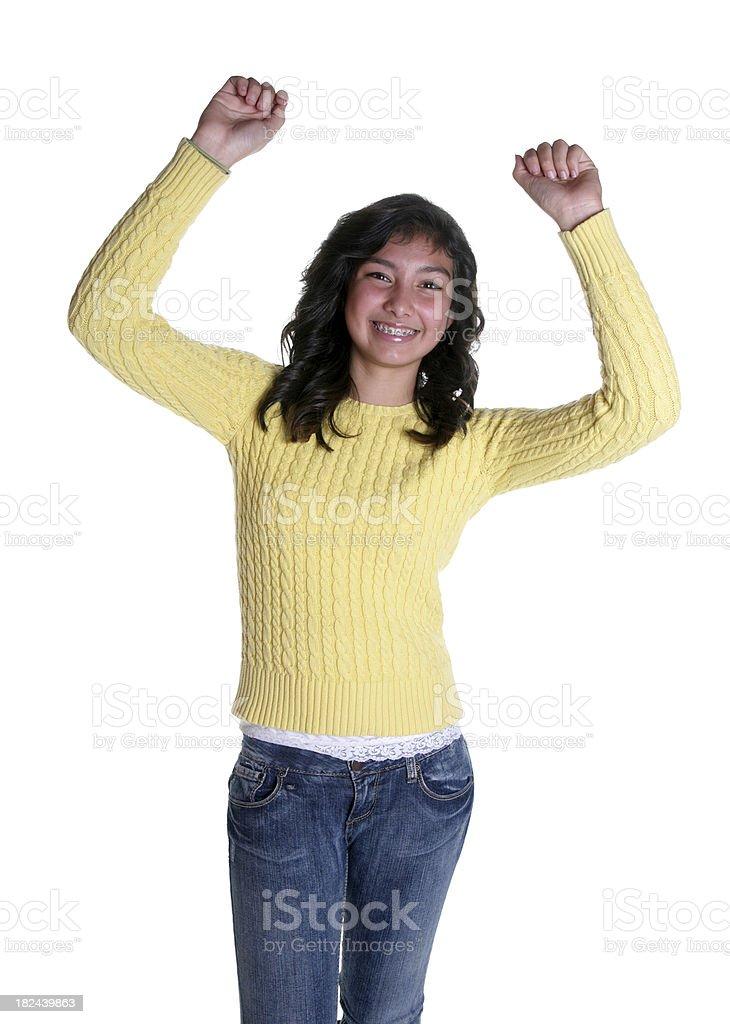 Jubilation royalty-free stock photo
