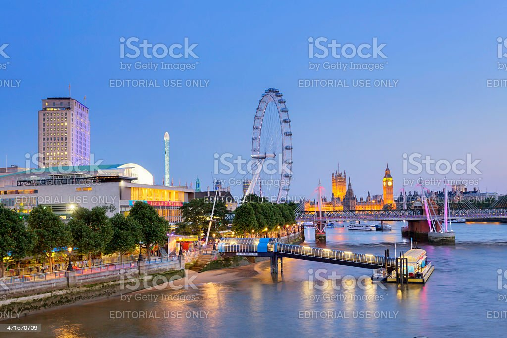Jubilee Gardens royalty-free stock photo