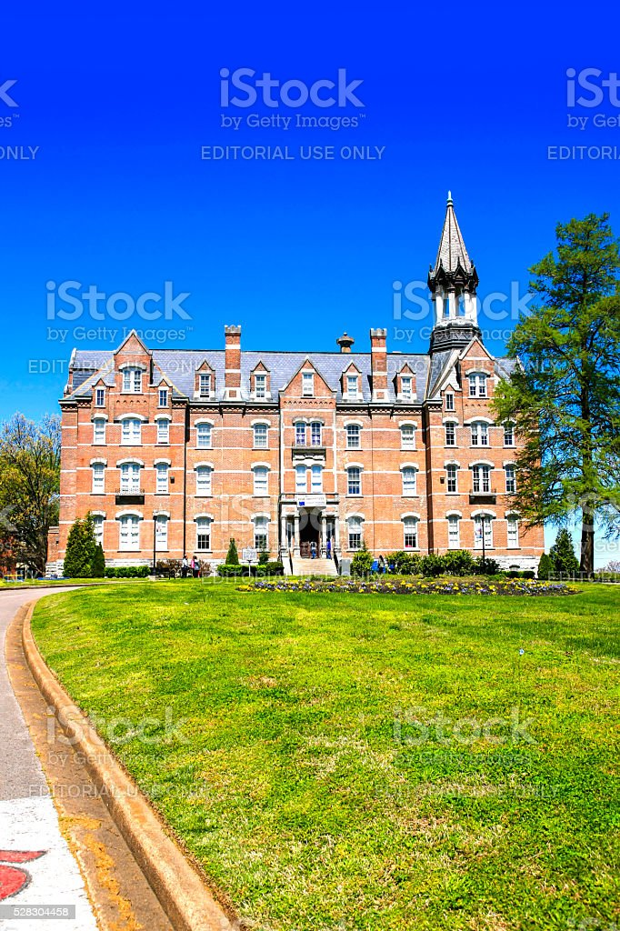 Jubilee Hall building on Fisk University campus in Nashville TN. stock photo