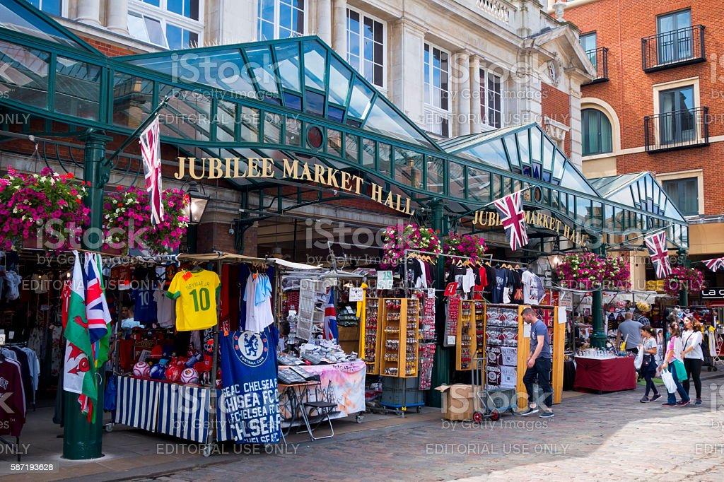 Jubilee Market Hall in Covent Garden, London stock photo