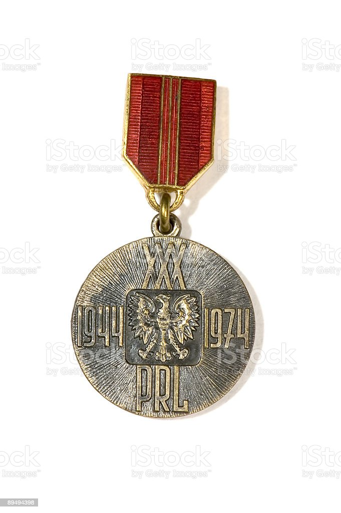 jubilee medal royalty-free stock photo