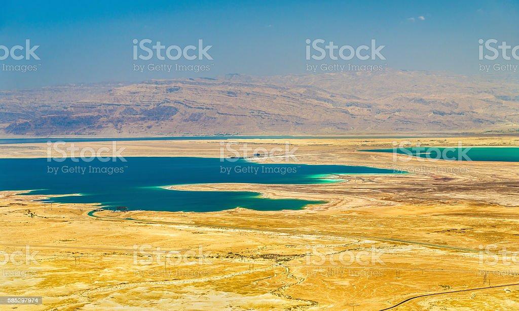 Judaean Desert near Dead Sea - Israel stock photo