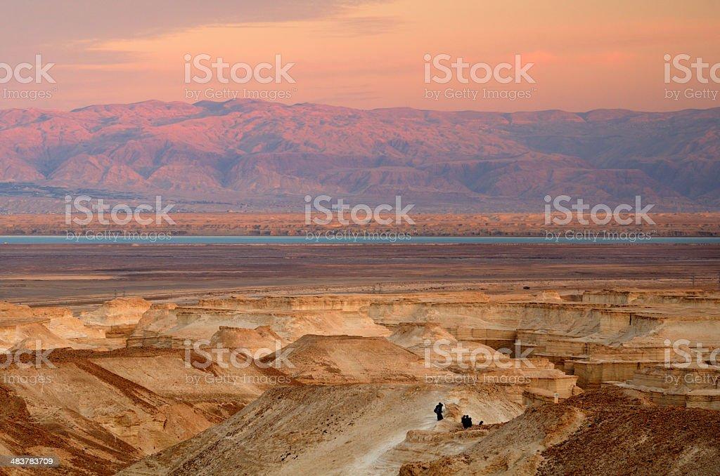 Judaean Desert stock photo