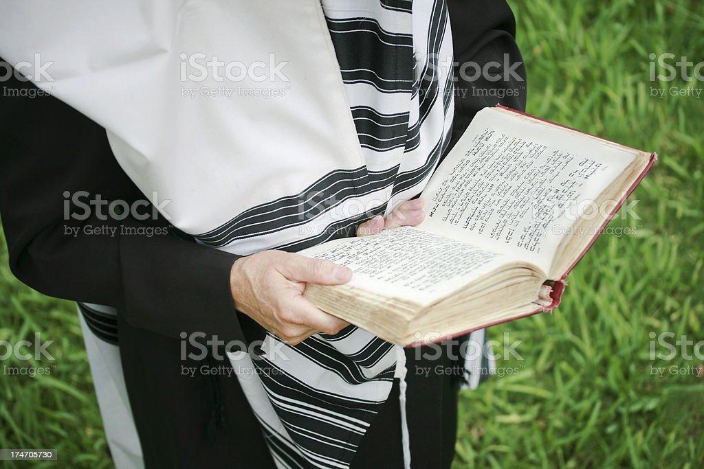 Judaism - Prayer royalty-free stock photo