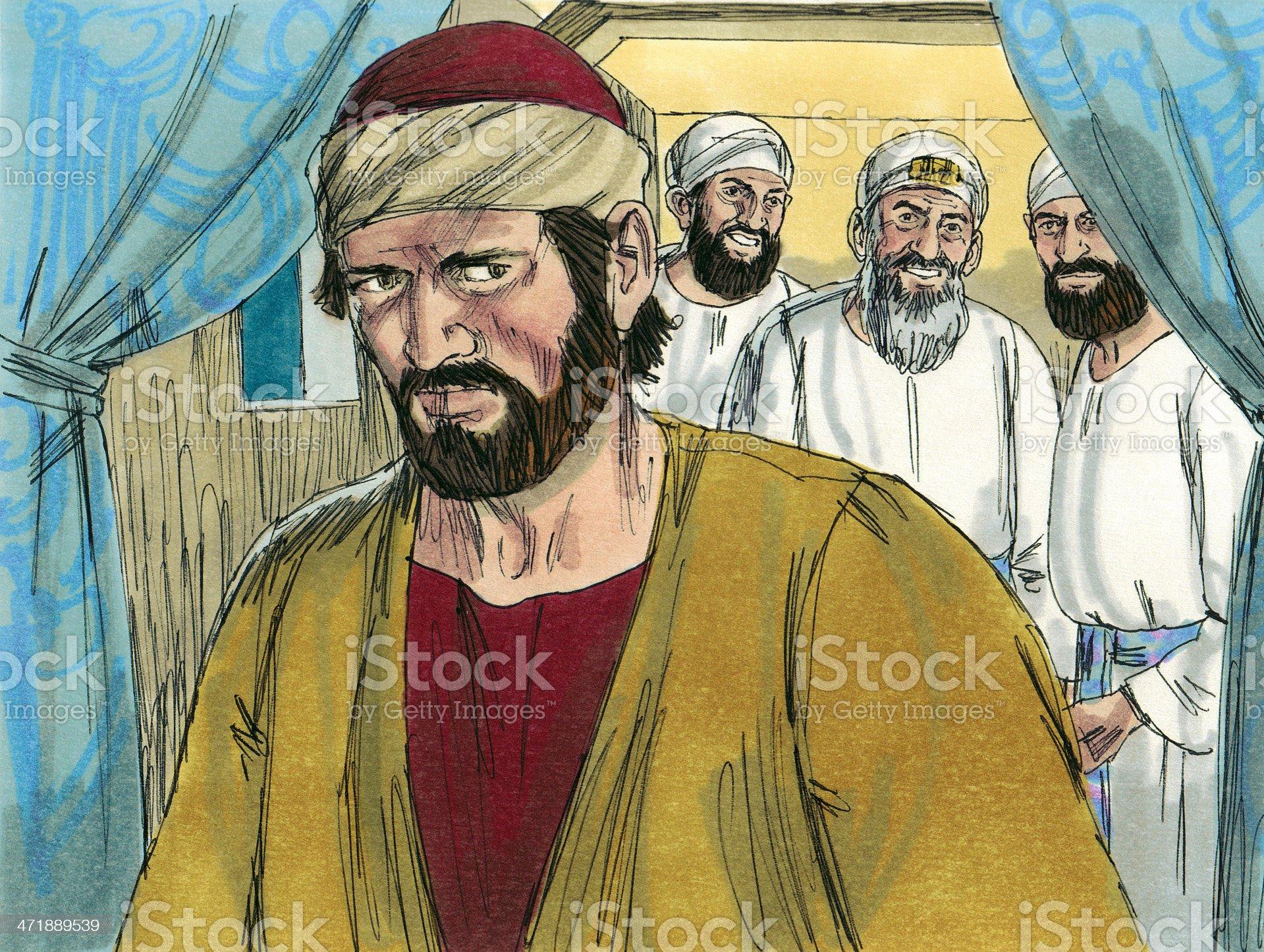 Judas Iscariot royalty-free stock photo