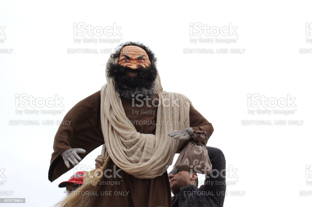 Judas Iscariot stock photo