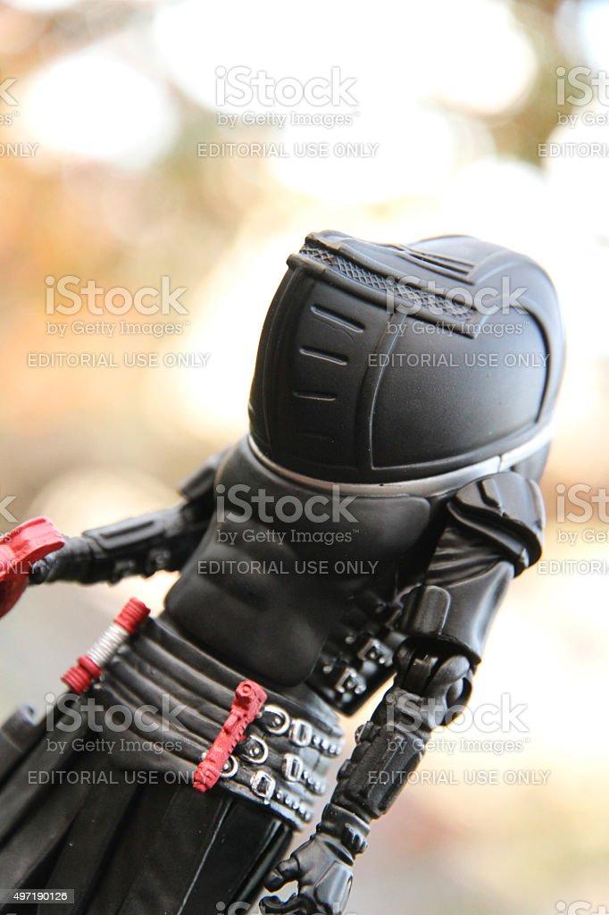 Juddon Footsoldier stock photo