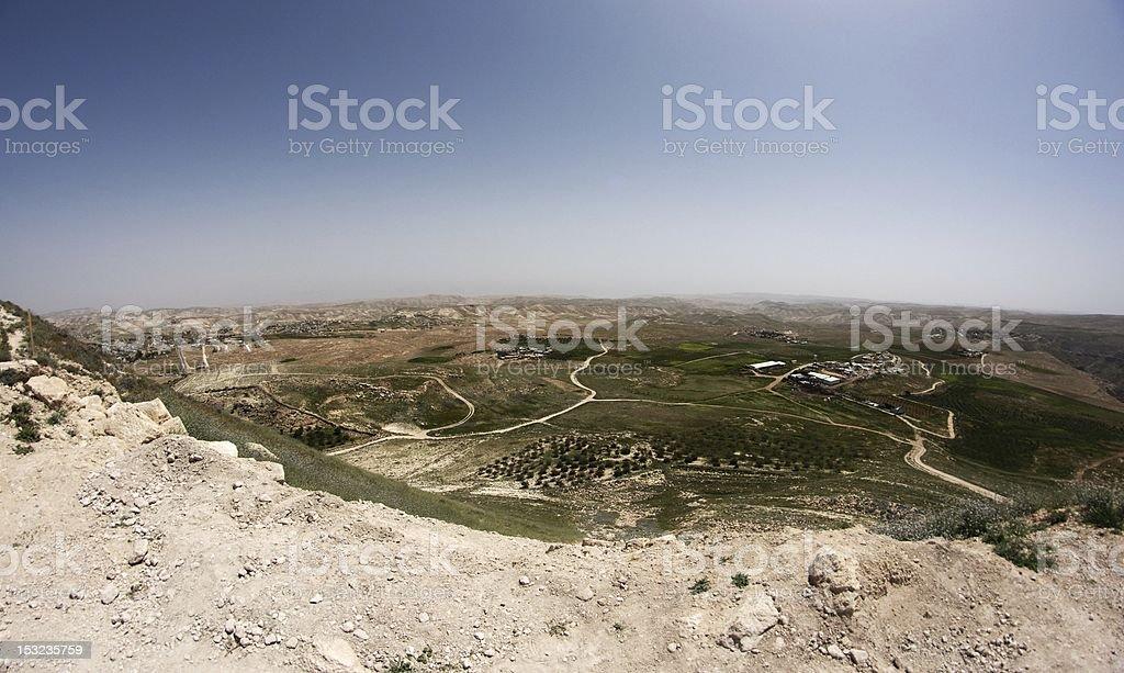 judea landscape stock photo