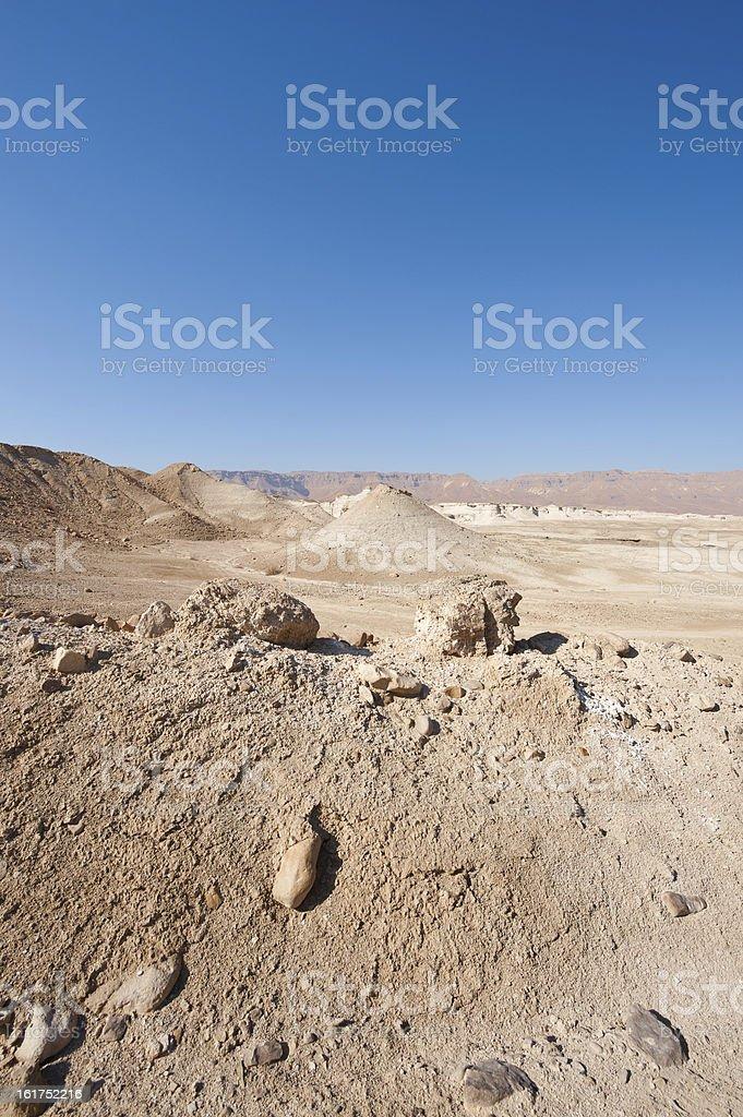 Judean Desert royalty-free stock photo