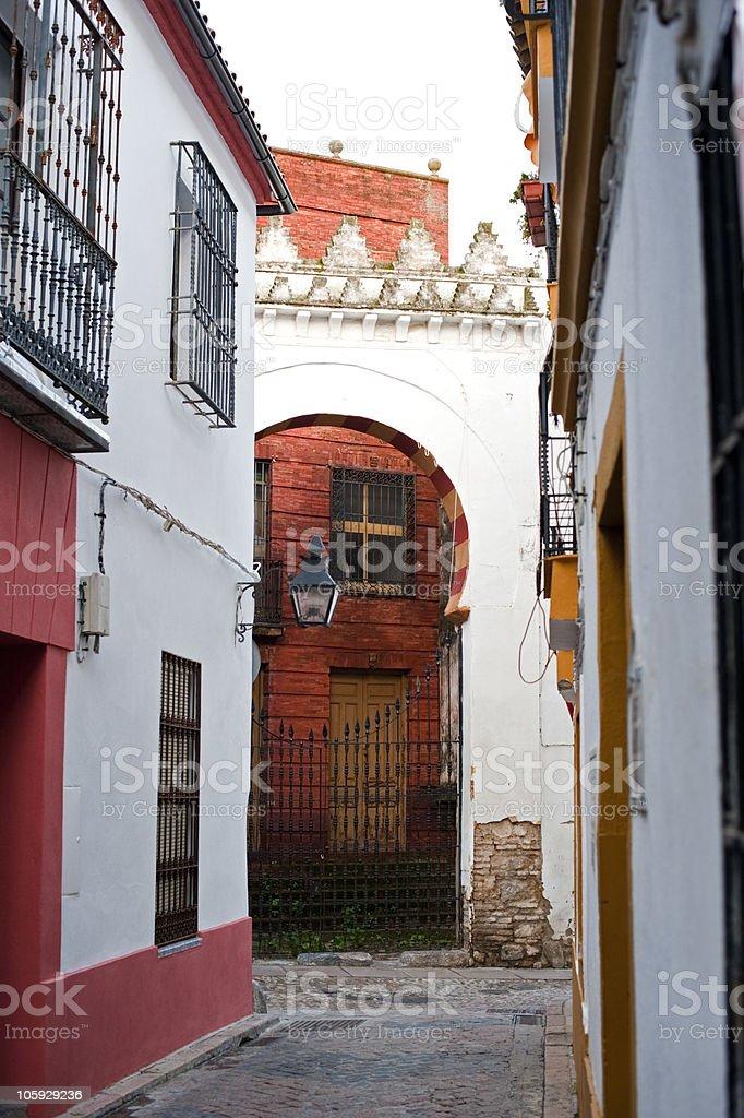 Juderia, Cordoba royalty-free stock photo