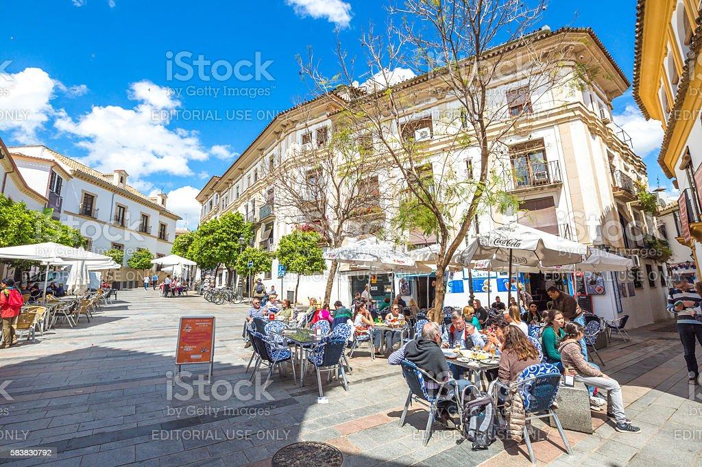 Juderia of Cordoba stock photo