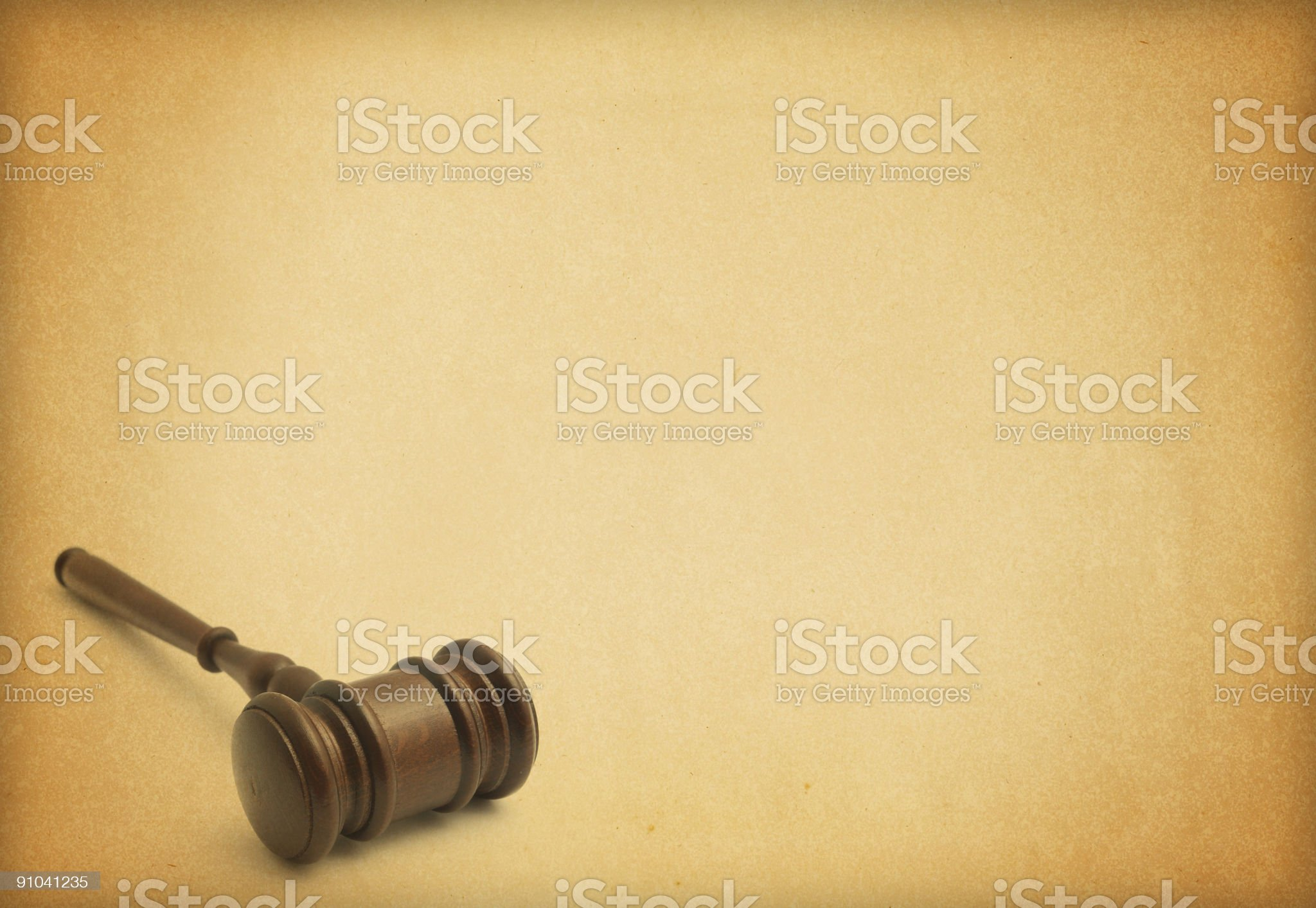 Judge Concept royalty-free stock photo